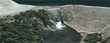 Painted Rocks Recreation Area, Darby Montana USA